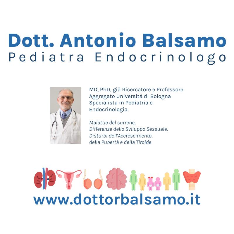 Dott. Antonio Balsamo Pediatra Endocrinologo